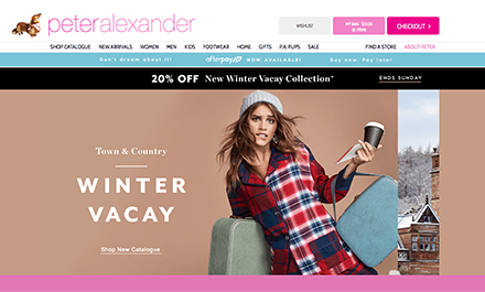 Peter Alexander Supports Buy Now, Pay Later