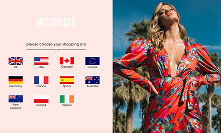 Missguided's Online Personalization Plays