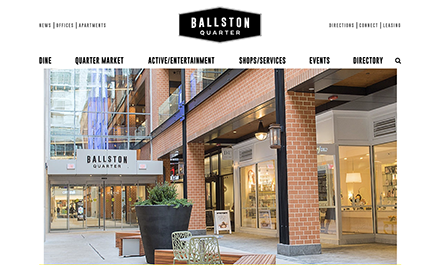 Ballston Quarter Doubles Its Online Presence